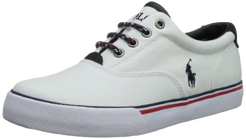 Polo Ralph Lauren Boys Vaughn Ankle Boots White Weià (White) Size: 34