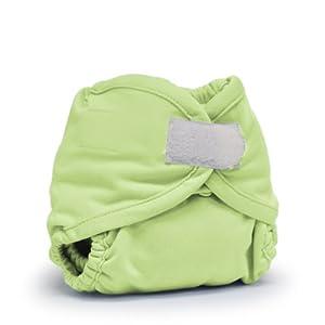 Rumparooz Cloth Diaper Cover, Lazy Lime Aplix, Newborn