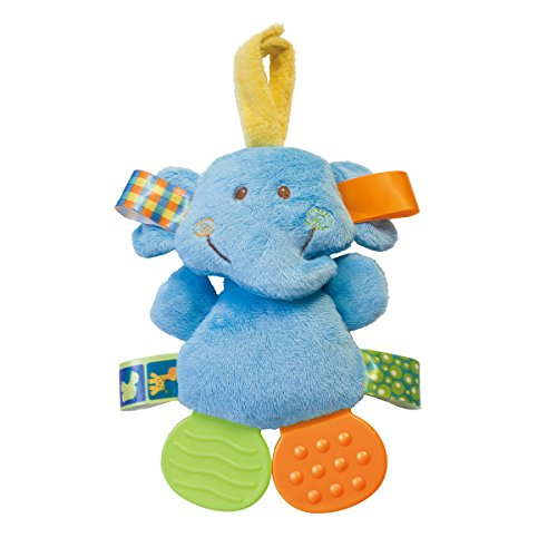 "Mary Meyer Taggies Crinkle Monkey Zoo Teether, 7"" - 1"