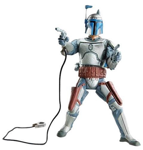 Buy Low Price Hasbro Star Wars – The Saga Collection Episode II Attack of the Clones – Basic Figure  – Jango Fett (B000B6CXL2)