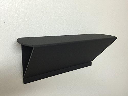 Dorm Shelf No Wall Damage No Tools Needed Black