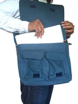 SKORCH Original Canvas Messenger Bags and Shoulder Bags for Men and Women - Ideal for Work, College, School and Commuting 2