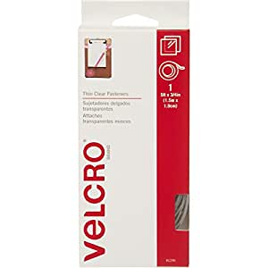 "VELCRO Brand - Sticky Back - 5' x 3/4"" Tape - Clear"