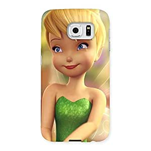 Cute Tin Cure Girl Back Case Cover for Samsung Galaxy S6