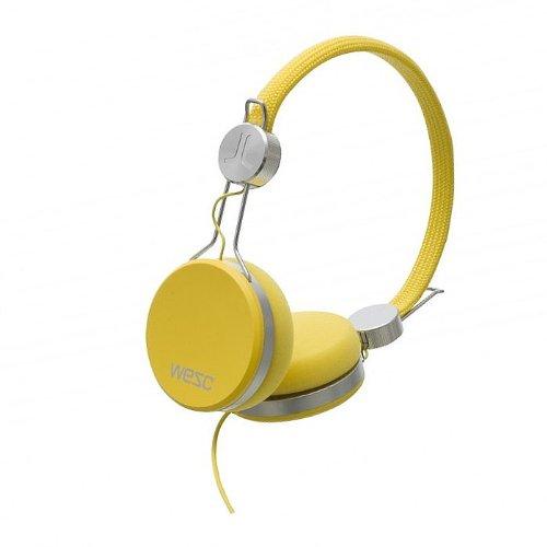 ヘッドホン おしゃれ Wesc Banjo Headphones (dandelion yellow)をおすすめ