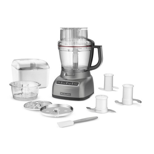 Brand New Kitchenaid Kfp1333Wh 13 Cups Food Processor Silver Refurbished front-617368