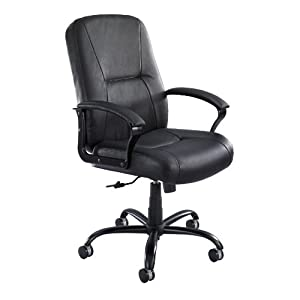 Safco Serenity Big and Tall Leather Highback Chair