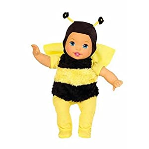garden party sweet as me - honey bee doll