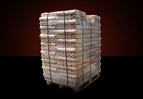 960kg holzbriketts runde nadelholz briketts mit loch inkl deutschlandweiter lieferung spar. Black Bedroom Furniture Sets. Home Design Ideas