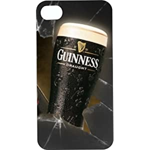Cool design Guinness Beer logo dark iPhone 4/4s case at amazon