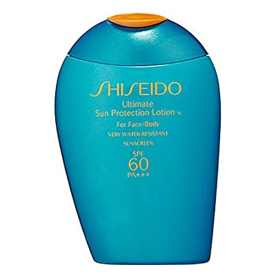 Cheapest Shiseido Ultimate Sun Protection Lotion SPF60 PA+++ For Face & Body 3.3fl.oz./100ml from Shiseido - Free Shipping Available