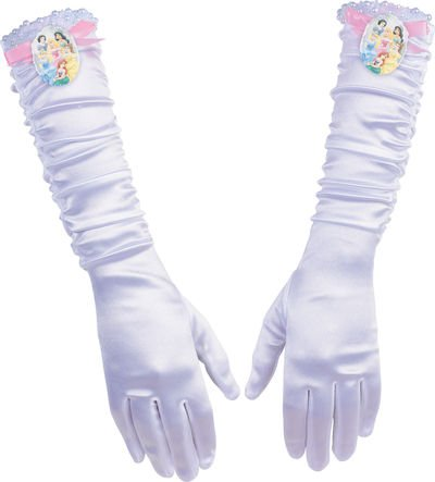 Princess Full Length Gloves,No Size
