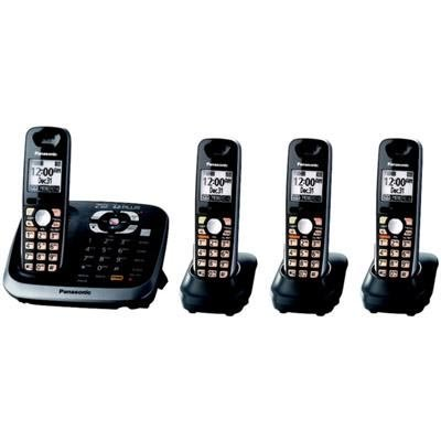 NEW Panasonic KX-TGD210N Expandable Digital Single Cordless Phone FREE GIFT LOOK