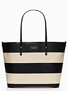 Kate Spade Ellison Avenue Harmony Baby Diaper Bag Black Ostrich Egg from Kate Spade