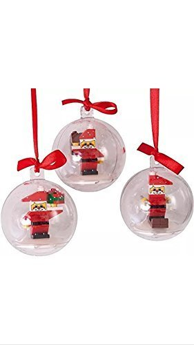LEGO Build Your Own Christmas Holiday Ornaments # 852744