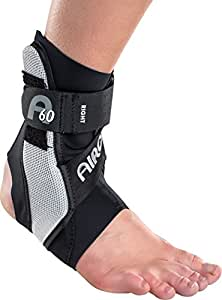 Aircast A60 Ankle Support Brace, Right Foot, Black, Large