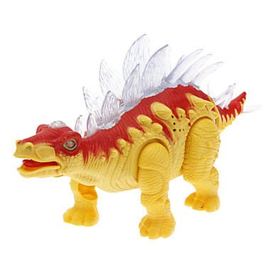 Yellow Abs Dinosaur Toy With Led & Voice front-620060