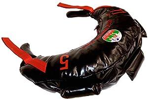 Bulgarian Bag - New Black PVC - Suples - The Original (Fitness, Crossfit, Wrestling, Judo, Grappling, Functional Training, MMA, Sandbag, Training Bag, Weighted Bag, Weight Bag) (11)