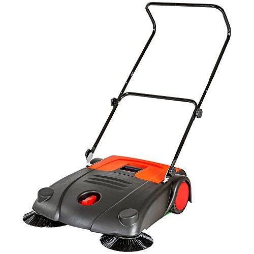 ® Kehrmaschine 70cm Handkehrmaschine Kehrbesen 700mm Kehrer Besen manuell neu