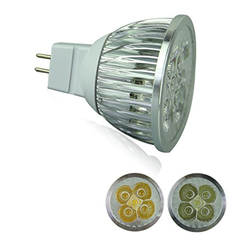 Voberry Ultra Bright Mr16 Led Spot Lights Lamp Bulb 15W 60 Degrees Dc 12V Cool White (Coolwhite)