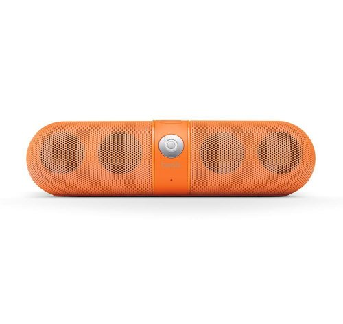 Beats by Dr Dre Pill Bluetooth Wireless Speaker - Neon Orange (Limited edition)