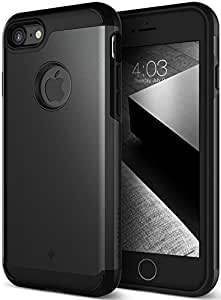 iPhone 7 Case, Caseology [Titan Series] Heavy Duty Protection Defense Shield [Gunmetal] [Elite Armor] for Apple iPhone 7 (2016)