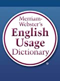 Merriam-Webster's English Usage Dictionary