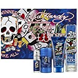 Ed Hardy Love & Luck Cologne Gift Set for Men 3.4 oz Eau De Toilette Spray (Tamaño: 3.4 Ounces)