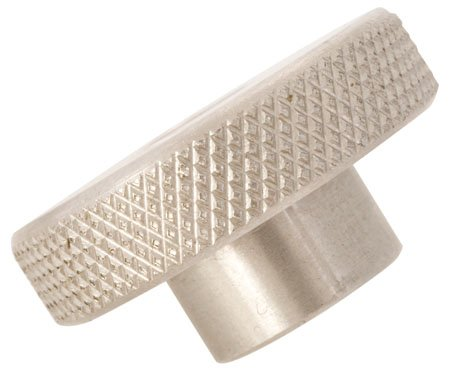 6-32 Coarse Thd., 3/4 Head Dia., 5/8 Lg., Knurled Head Nuts, Stainless Steel (1 Each)