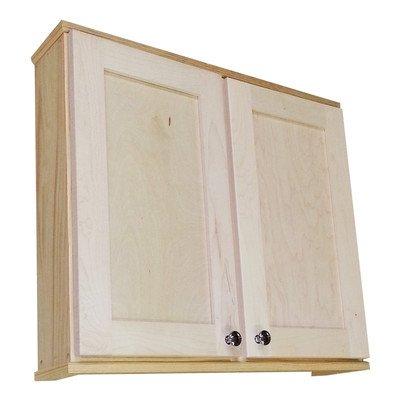 "Shaker 29"" x 25.5"" Surface Mount Medicine Cabinet Size: 6.25"""