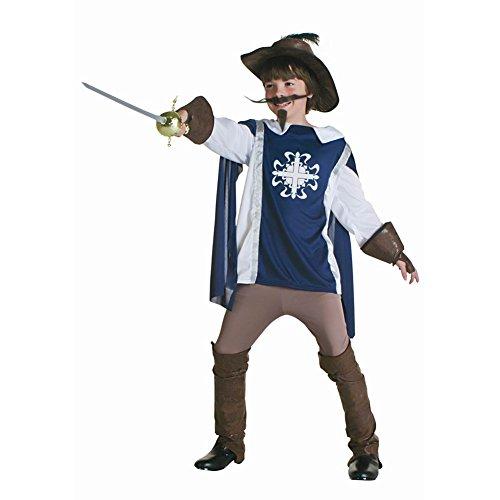 [LifeshoppingMall The Three Musketeers Cosplay Costume Kids Clothes] (Three Musketeers Costume)