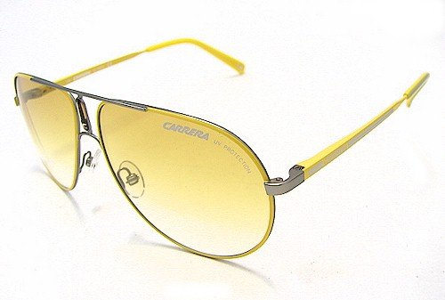 CARRERA GIPSY 6/S Sunglasses GIPSY6S Silver Yellow GOD-TM Shades