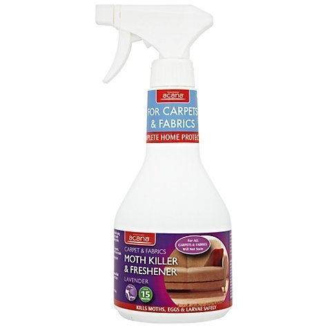 Acana Carpet & Fabrics Moth Killer and Freshener (Protection lasts for 3 months) by Acana