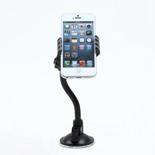 スマートフォン クリップ式 フレキシブルアーム 吸盤式 車載 ホルダー スマホ くねくね スマホスタンド iPhone/GALAXY/Xperia デジタルカメラ 車 部屋 キッチン ノートパソコン 背面