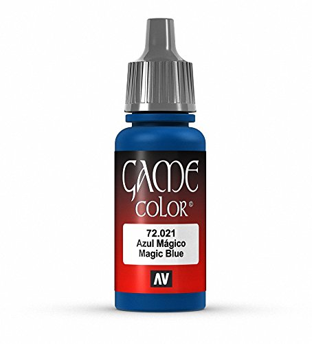 Vallejo Game Color Magic Blue Paint, 17ml