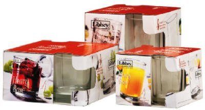 Libbey Glass 149 4 Pack, 5 oz. Crystal Juice Glass - Pack Of