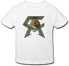 BOAO Baby Toddler Canelo Alvarez Classic Logo BoysGirls T-shirt Age 2-6