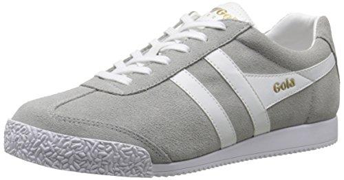 Gola Women's Harrier Fashion Sneaker, Grey/White, 7 M US
