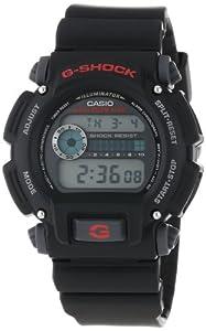 卡西欧Casio DW9052-1V G-Shock Digital防水多功能带背光军用电子表$39.9