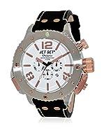 Jet Set Reloj con movimiento cuarzo japonés Man J37103-167 50 mm
