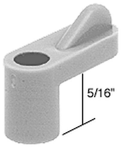 "Crl Gray 5/16"" Plastic Window Screen Clips - Bulk Pack Of 100 By Cr Laurence front-474664"
