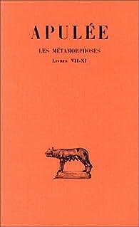 METAMORPHOSES T3 L7-11 par  Apul�e