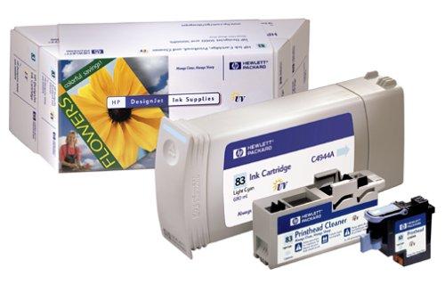 Ink cartridge ink value pack n°83 printhead+ink light cyan 680ml (C5004A)