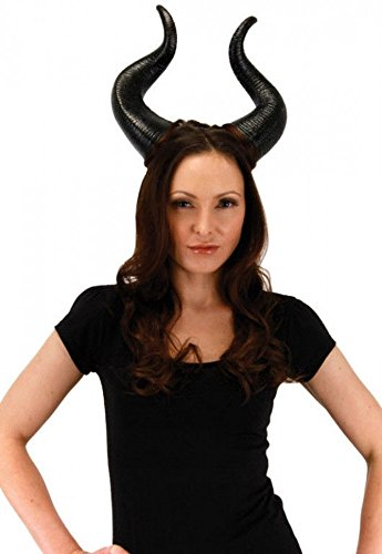Disguise Women's Disney Maleficent Movie Maleficent Deluxe Horns