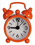 Mini Classic Alarm Clock - Orange - Girl, Girls, Child, Kids Popular, Best, Top Selling Stocking Filler Ideas Toys, Games