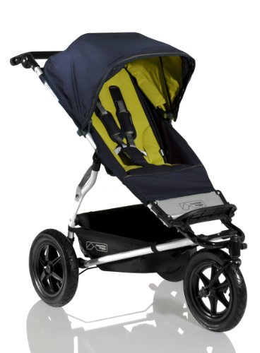 Mountain Buggy Urban Jungle Runway Collection, Olive Green