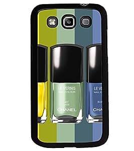 Printvisa Nail Polishes In A Pattern Back Case Cover for Samsung Galaxy Quattro i8552::Samsung Galaxy Quattro Win i8552