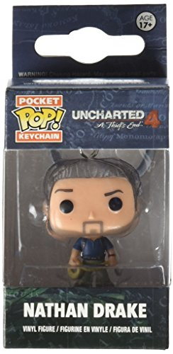 Funko - Porte Clé Uncharted 4 - Nathan Drake Pocket Pop 4cm - 0889698102995