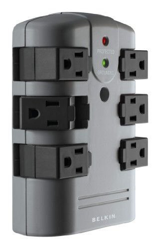 Belkin Pivot Wall Mount Surge Protector with 6 Outlets