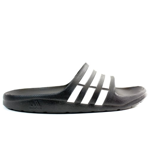 Adidas Duramo Slide Sandal,Black/White/Black,11 M Us Women'S/9 M Us Men'S back-583591